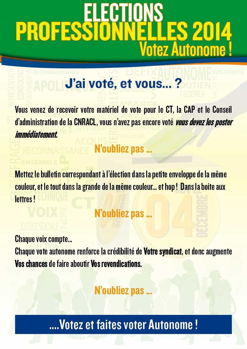 Elections professionnelles j 39 ai vot et vous spp pats - Difference entre conseil d administration et bureau ...