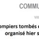 COMMUNIQUE DE PRESSE - Violence sur les pompiers niçois